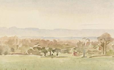 Landscape, Possibly Framlingham, Suffolk Poster