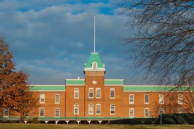 Lane Hall At Virginia Tech Poster