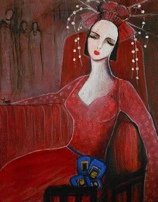 Languishing - Langoureuse Poster by Mirko Gallery