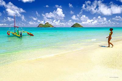 Lanikai Beach Paradise Poster