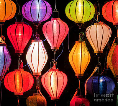 Lantern Stall 04 Poster by Rick Piper Photography