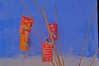 Lanterns A Penang. Poster