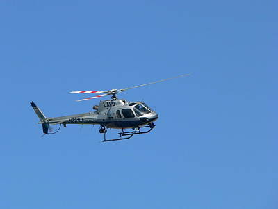 Lapd Helicopter Poster