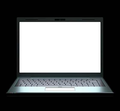Laptop Poster by Ktsdesign