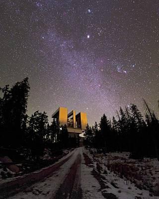 Large Binocular Telescope, Arizona, Usa Poster by Babak Tafreshi