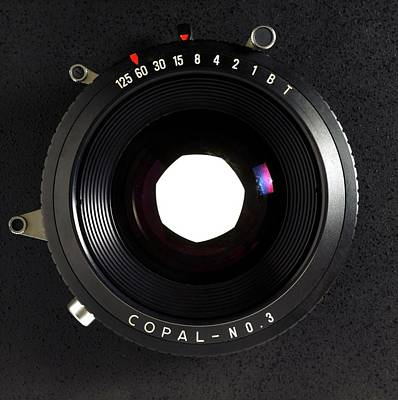 Large Format Adjustable Camera Lens Poster by Victor De Schwanberg