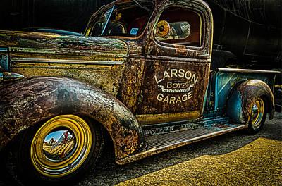 Larson Boyz Garage Poster
