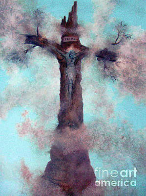 Las Cruces New Mexico Art Paintings Poster by Alberto Thirion