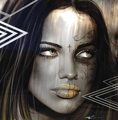 Adriana Lima - ' Las Mujeres Espanolas ' Poster