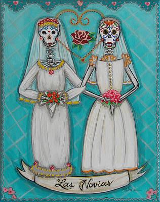 Las Novias Poster by Sabina Espinet