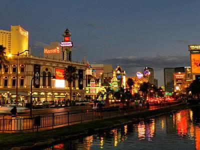Las Vegas 36 Poster by Lance Vaughn