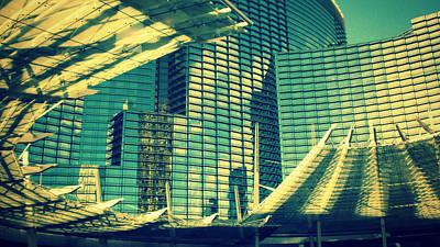Las Vegas Architecture Poster by Patricia Awapara