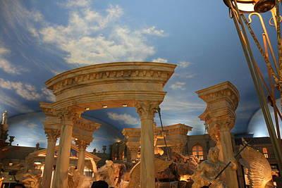 Las Vegas - Caesars Palace - 121212 Poster by DC Photographer