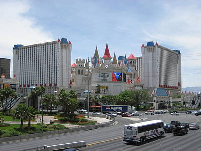Las Vegas - Excalibur Casino - 12121 Poster