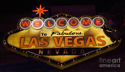 Las Vegas Neon 11 Poster