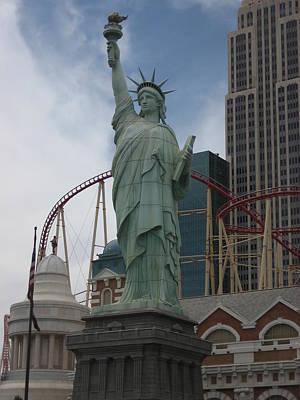 Las Vegas - New York New York Casino - 12122 Poster