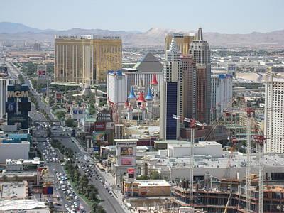 Las Vegas - The Srip - 121210 Poster