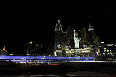 Poster featuring the photograph Las Vegas Traffic 2 by James Sage