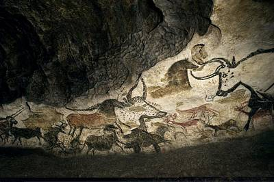 Lascaux II Cave Painting Replica Poster by Science Photo Library