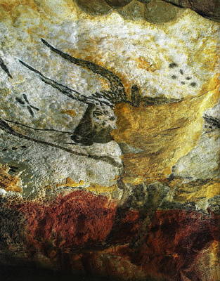 Poster featuring the photograph Lascaux II Number 3 - Vertical by Jacqueline M Lewis