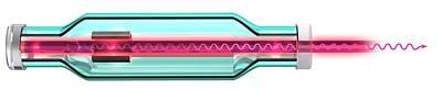 Laser Poster by Claus Lunau