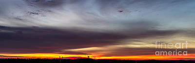 Last 2012 Sunrise Panoramic Poster