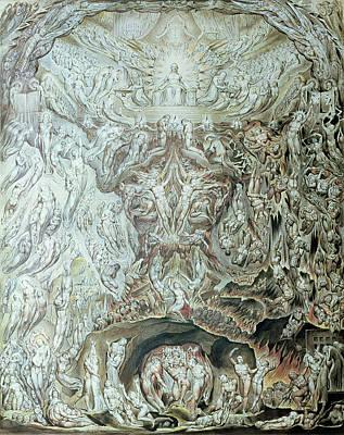 Last Judgement Wc Poster by William Blake