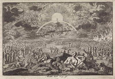 Last Judgment, Jan Luyken, Pieter Mortier Poster