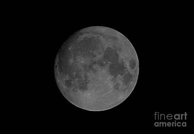 Last Millennium Full Moon Poster by John Chumack