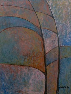 Last Of Fall Color Poster by Linda Krukar