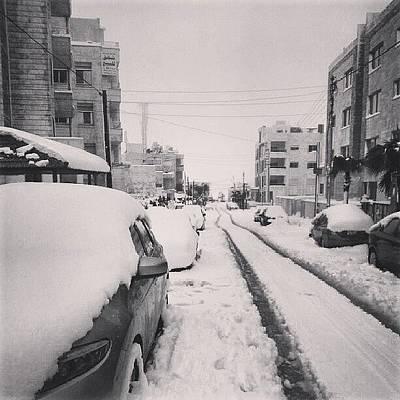 Last Snow In Amman,  Dec. 13 #beamman Poster