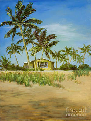 Poster featuring the painting Last Sugar Shack by Vic  Mastis