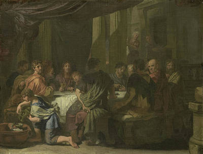 Last Supper, Gerard De Lairesse Poster by Litz Collection