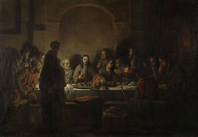 Last Supper, Gerbrand Van Den Eeckhout Poster by Litz Collection