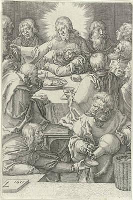 Last Supper, Jan Harmensz Poster