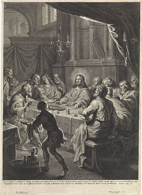 Last Supper, Michel Natalis Poster