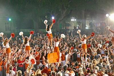 Last University Of Texas Hex Rally Poster