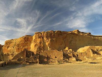 Late Afternoon In Pueblo Bonito Poster by Feva  Fotos