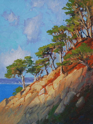 Late Light Point Lobos Poster