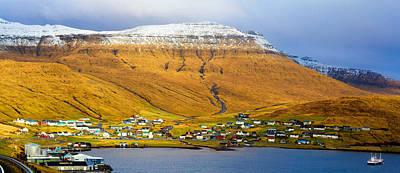 Late Spring In Faroe Islands Panorama Poster