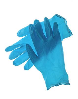 Latex Gloves Poster