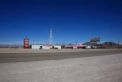 Lathrop Wells Nevada Poster by Frank Romeo