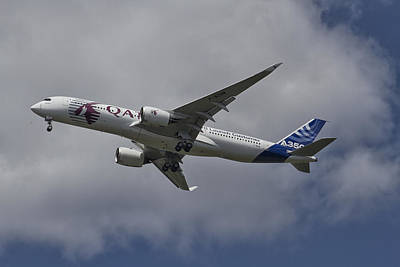 Launching Airbus A350 Poster