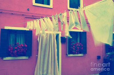 Laundry Day 1 Poster by Danilo Piccioni