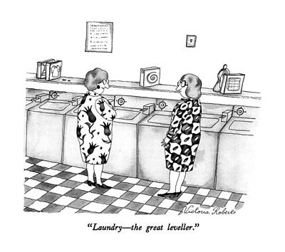 Laundry - The Great Leveller Poster