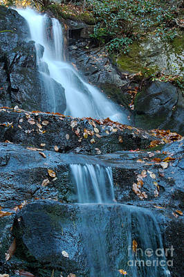Poster featuring the photograph Laurel Falls by Patrick Shupert