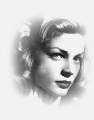 Lauren Bacall Poster by Steve K