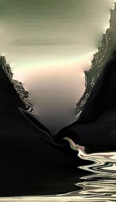 Lava Flow Poster by Steve Godleski