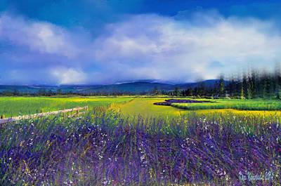 Lavender Blues Poster