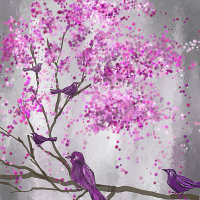 Lavender Leisure- Lavender Wall Art Poster